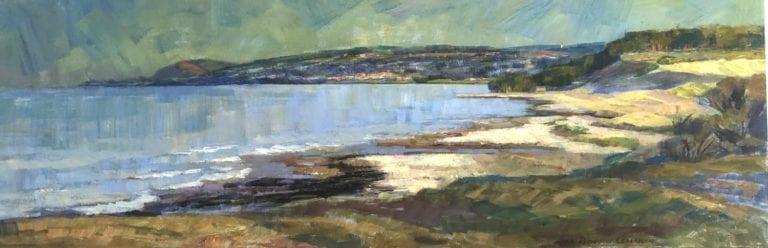 Bild på målning av Anna Rochegova